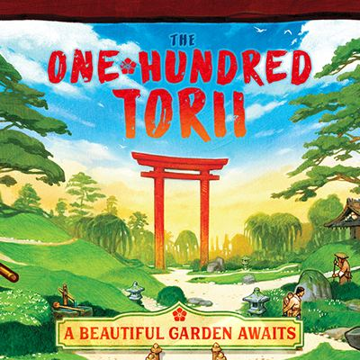 ONE HUNDRED TORII Meeple Foundry